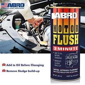 Limpiador del sistema de lubricación Abro Motor Flush, Larga vida para su motor