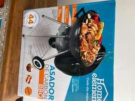 Asador de carbón BBQ