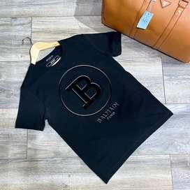 Camisetas masculinas 1505 balmain envio gratis