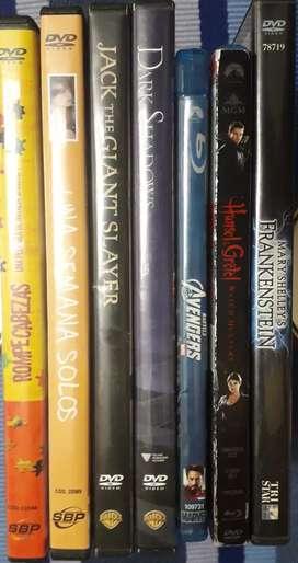 Lote 7 DVD's ORIGINALES
