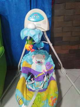 Vendo columpio fisher price