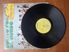 disco de acetato antiguo de don Medardo y sus players
