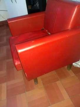 Vendo sillón vintage para retapizar