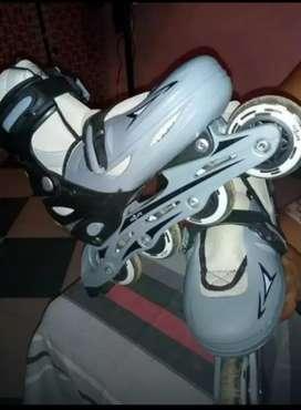 Rollers gris y negros 38 al 41