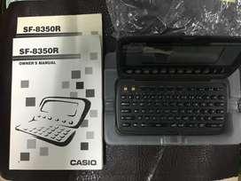 Agenda Electronica Casio DIGITAL DIARY 64KB Casio DIGITAL DIARY vende por repuestos se entrega con el empaque original