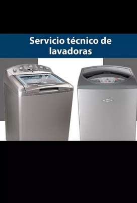 Tecnico a domicilio en instalaciones reparaciones y mantenimientos de lavadoras.