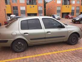 Vendo Renault Simbol 2005 a Gas y gasolina