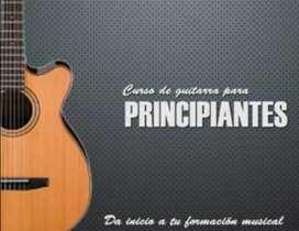 Doy clases de guitarra acústica, electro acústica y eléctrica.