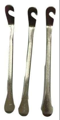 Llaves sacacubiertas reforzadas de acero x 2 unidades