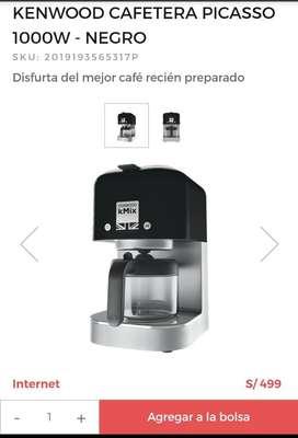 Cafetera Kenwood Nuevo