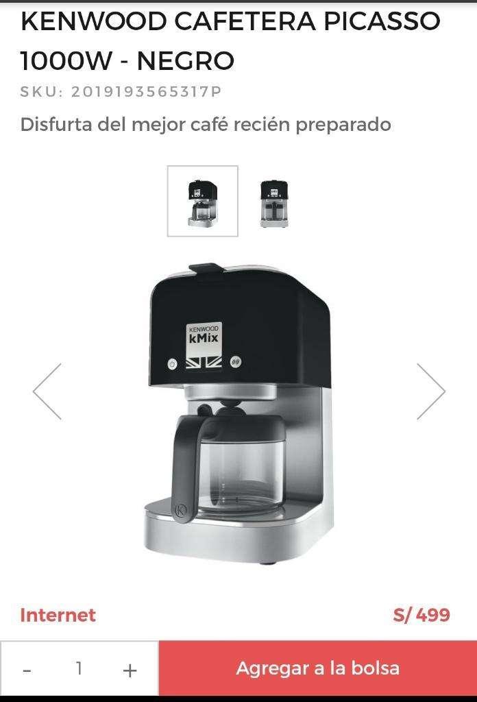 Cafetera Kenwood Nuevo 0