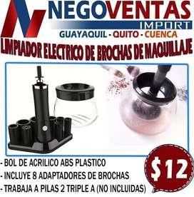 LIMPIADOR DE BROCHA  PORTATIL ELECTRICO RECARGABLE