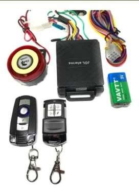 Alarma JDL Para Moto - Encendido Y Apagado Desde El Control (NO INCLUYE INSTALACIÓN)