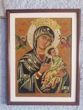 Cuadro de la Virgen del Perpetuo Socorro