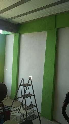 Trabajo de pintura en general