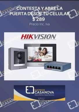 Videoportero Hikvision