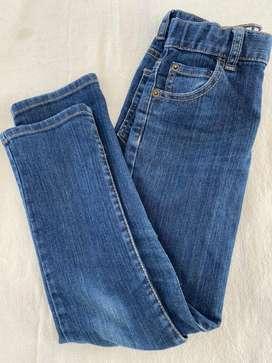 Jeans chupin elastizados Ninos
