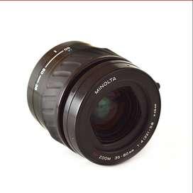 lente Minolta AF zoom 35-80 mm