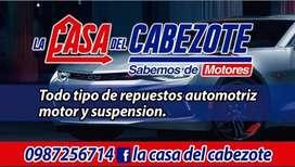 La Casa Del Cabezote Block
