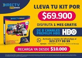 Kit Directv prepago completo