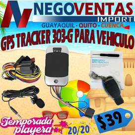 GMS GPRS GPS TRACKER 303 G PARA CARROS