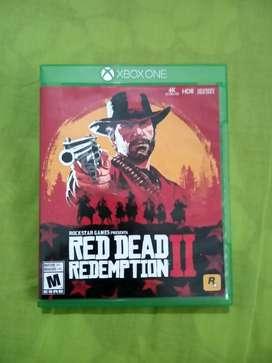 Juego Xbox One RED DEAD REDEMPTION 2 en perfecto estado!