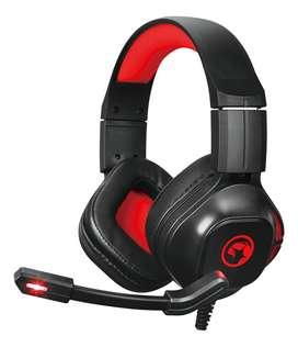 Audifono Headset Gamer Juegos Marvo Hg8929 50mm 3.5 Ps4 Xbox