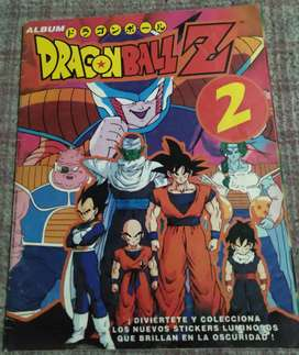 Álbum de figuritas Dragon Ball Z 2