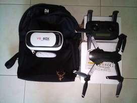 DRON SG901 CON GAFAS VIRTUALES Y MALETIN