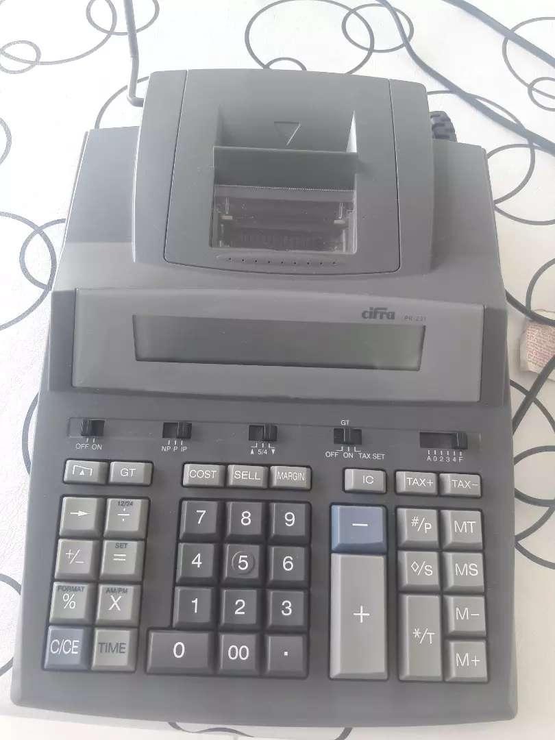 Calculadora Cifra con impresor 0