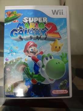 Película Nintendo Wii original Mario Galaxy 2