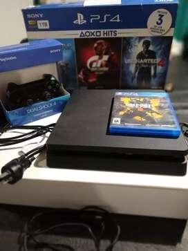 PlayStation 4  1TB completa