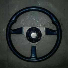 Volante Deportivo Fiat 600 Azul