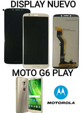 Display Original Moto G6 Play Instalado