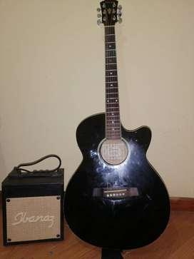 Guitarra electroacustica aeg5