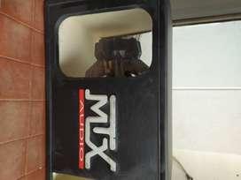Vendo Caja Sonido para carro  MTX acrílica , obsequio Bajo MTX Original  12 pulgadas