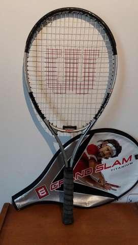 Raqueta Wilson Tennis Grand Slam Titanium usada