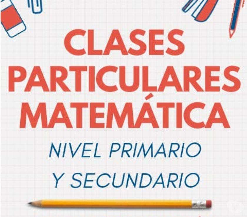 APROVECHE VACACIONES. CLASES PERSONALIZADAS DE MATEMÁTICAS, ESPAÑOL Y OTRAS A DOMICILIO.
