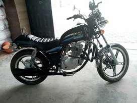 Suzuki GN 125 nueva con tan sólo 800 kilometros