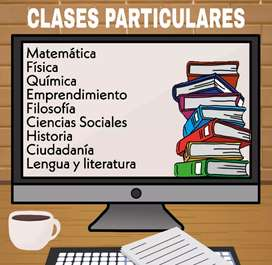 Clases particulares y asesoría en deberes y proyectos (presencial y online)