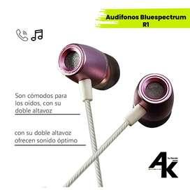 Aurículares - audífonos Bluespectrum R1