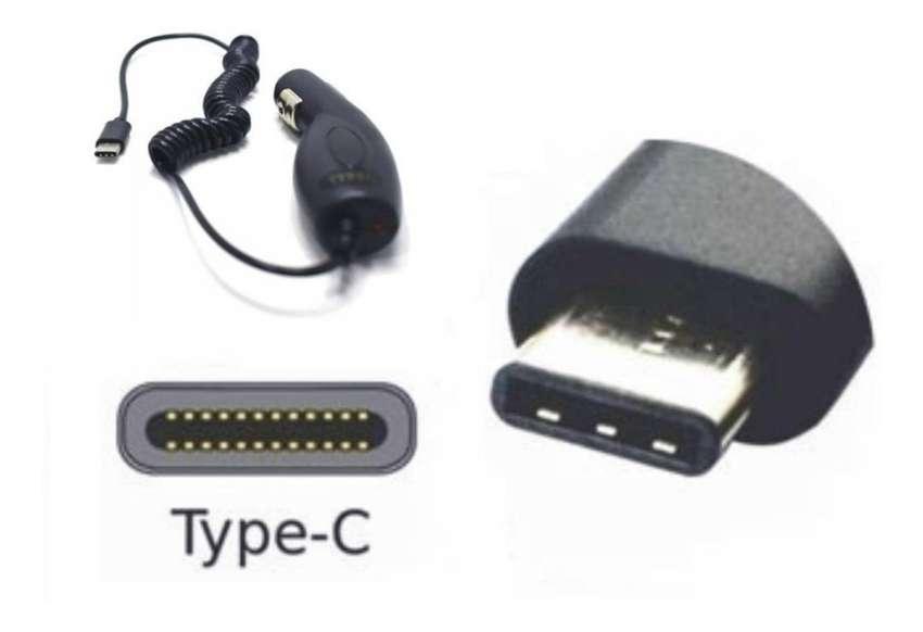 Cargador  p/ Autos tipo C p/ Samsung A20 A30 A50 S8 S9 S10