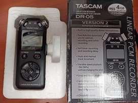 Tascam Dr-05 (version 2) y micrófono de solapa boya by-m1 - cambio por celular