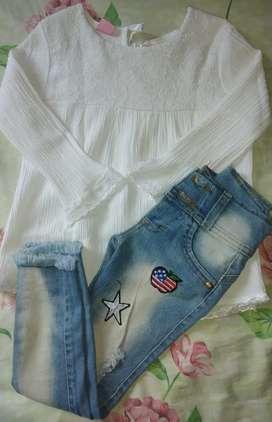 jeans más camisa los dos   1000
