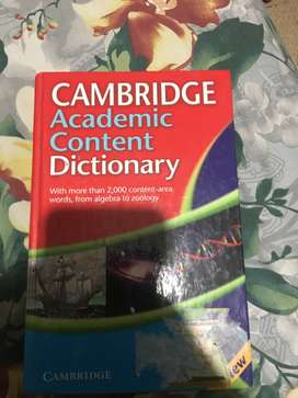 Diccionario Ingles Cambridge Academic