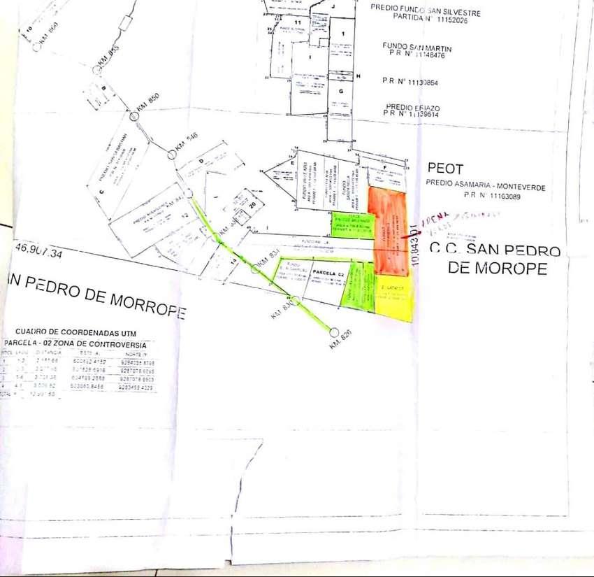Se venden 1,135 Hás agrícolas en Lambayeque. 0