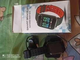 Smart bracelet heart rate