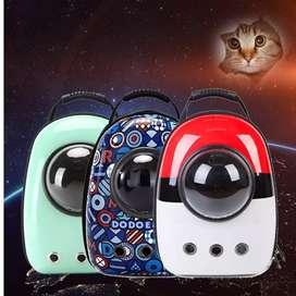 Hermosa maleta para mascotas