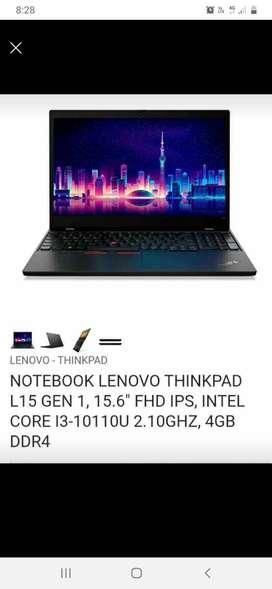 Laptop thinkpad l5 core i3