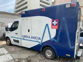 Se vende Ambulancia Renault Master Modelo 2017  Diese - Negociable!